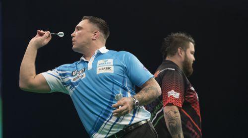 Gerwyn Price nutzte in Cardiff den Heimvorteil gegen Michael Smith