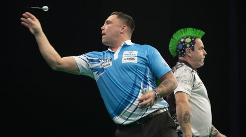 Gerwyn Price besiegt Peter Wright