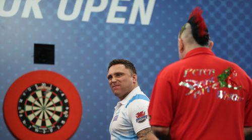 Gerwyn Price schaffte es bei den UK Open erstmals in das Finale eines Major PDC-Turnieres