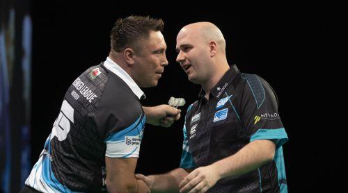 Gerwyn Price und Rob Cross trennten sich schiedlich und friedlich unentschieden
