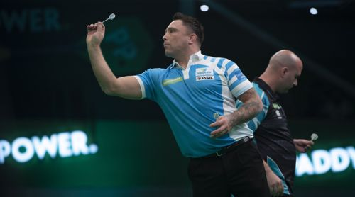 Gerwyn Price besiegt Rob Cross