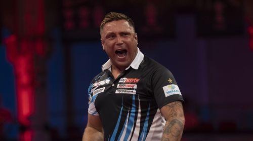 Weltmeister Gerwyn Price startet erfolgreich in das World Matchplay 2021