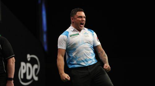 Gerwyn Price zeigt seine Stärke beim World Grand Prix 2017