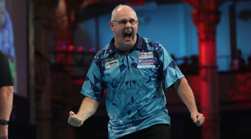 Ian White hier beim World Matchplay 2018