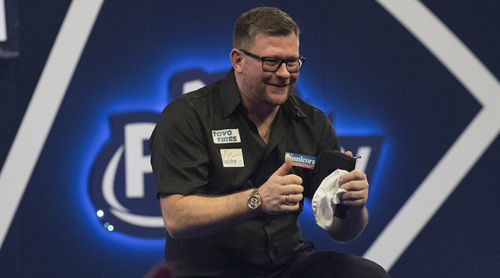 James Wade wirft Keegan Brown aus der WM