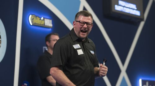 James Wade stets mit perfektem Timing