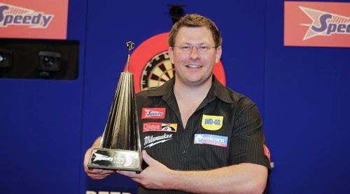 James Wade UK Open Turniersieger 2008 und 2011