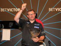 James Wade freut sich über 50.000 £ Prämie für den zweiten Platz