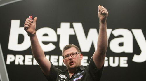 James Wade besiegt Michael van Gerwen bei der Premier League