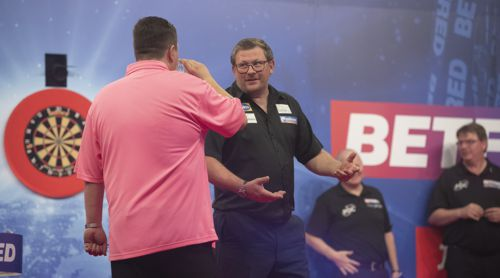 James Wade erklärt Keegan Brown, warum er gewonnen hat