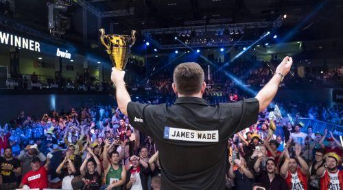 James Wade - der einzige Dartspieler mit TÜV