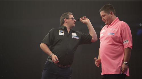 James Wade besiegte Keegan Brown in einem Krimi