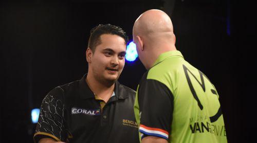 Jeffrey de Zwaan sorgte gegen Michael van Gerwen für die vielleicht größte Überraschung der UK Open-Geschichte