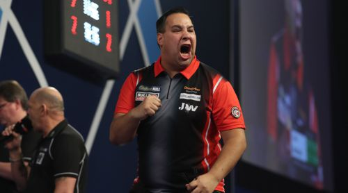 Darts WM 2018 Jermaine Wattimena