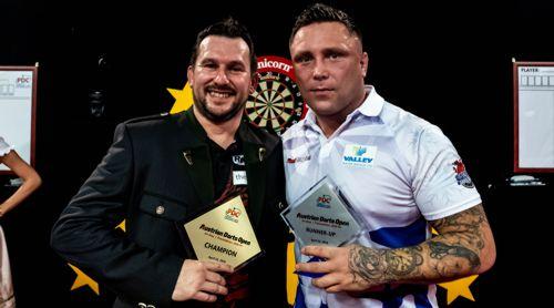 Jonny Clayton gewinnt die Austrian Darts Open