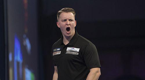 Josh Payne - hier bei der Darts-WM 2019