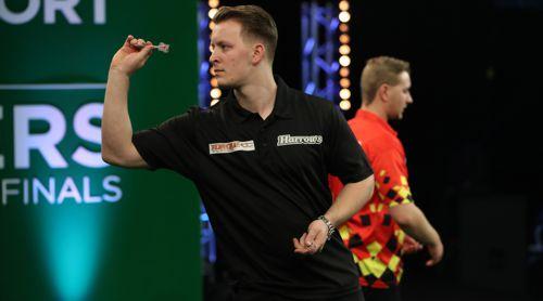 Josh Payne und Dimitri van den Bergh bestritten das Finale der World Youth Darts Championship
