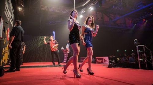 Kim Huybrechts und die Walk on Girls