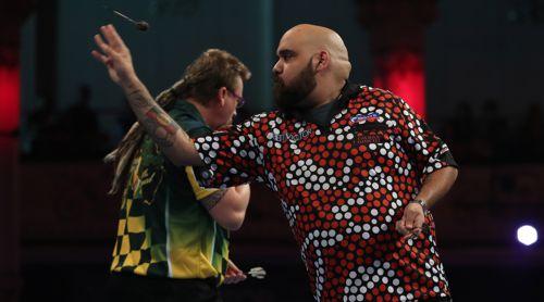 Kyle Anderson und Simon Whitlock gehören zu den besten Dartspielern Australiens
