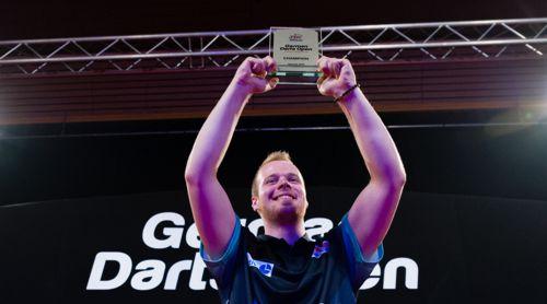 Max Hopp ist erster deutscher Sieger bei einem PDC-Turnier