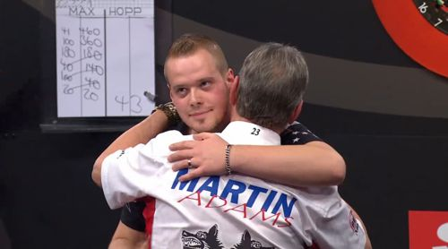 Max Hopp und Martin Adams