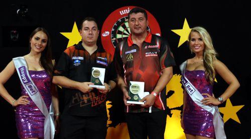 Mensur Suljovic gewinnt in Riesa sein erstes PDC Turnier