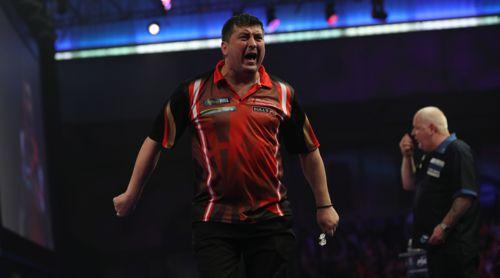 Mensur Suljovic ist die Nummer fünf der Darts-Weltrangliste