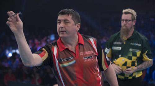 Mensur Suljovic startete die Saison 2019 mit einem Sieg gegen Simon Whitlock