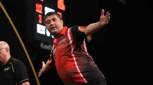 Mensur Suljovic fliegt in das Achtelfinale des Grand Slam