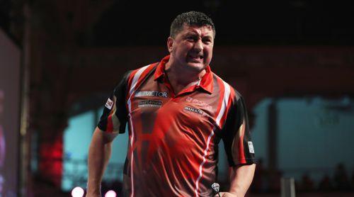 Mensur Suljovic zieht in das Viertelfinale des World Matchplay ein