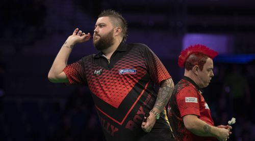 Michael Smith unterlag Weltmeister Peter Wright recht deutlich