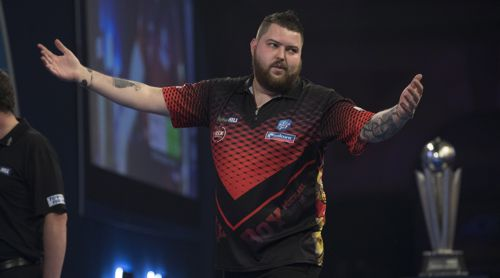 Michael Smith Darts Vize-Weltmeister 2019