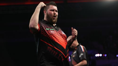 Michael Smith gelang der neunte Whitewash in der Geschichte der Premier League Darts