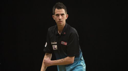 Michael Unterbuchner beim Grand Slam of Darts 2018