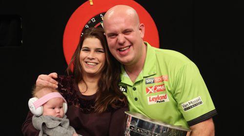 Michael mit seiner Frau Daphne und Tochter Zoe van Gerwen