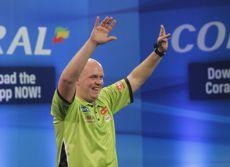 Michael van Gerwen wirft den ersten UK Open 9-Darter seit vier Jahren