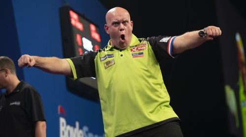 Michael van Gerwen 33 Major-Titel