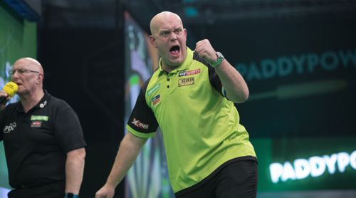 Michael van Gerwen komplettiert seine Major Turnier-Sammlung