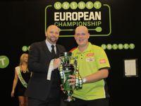 European Darts Championship Michael van Gerwen