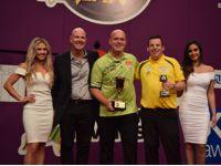 Michael van Gerwen ist Titelverteidiger bei den Perth Darts Masters