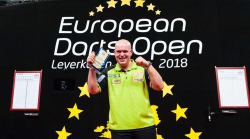 Michael van Gerwen gewann das erste Turnier der European Tour 2018