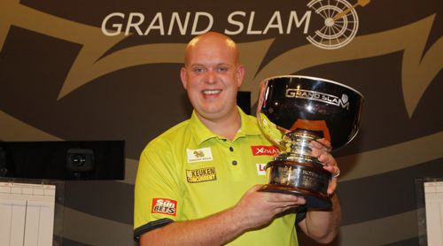 Michael van Gerwen gewinnt den Grand Slam of Darts 2016