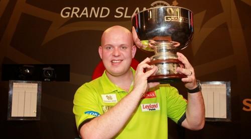 Michael van Gerwen Grand Slam Champion