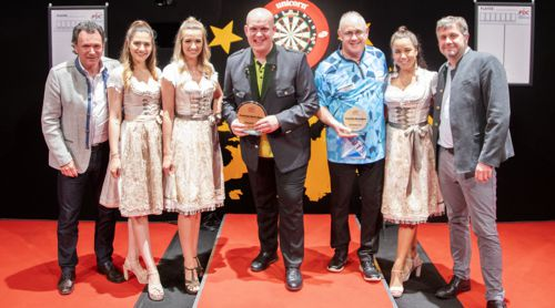 Michael van Gerwen gewinnt die Austrian Darts Open