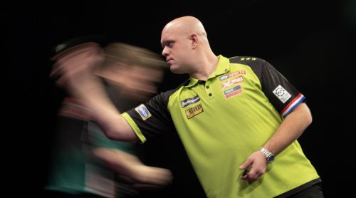 Michael van Gerwen fertigt Jim Williams ab