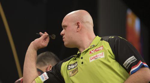 Michael van Gerwen besiegt Jonny Clayton