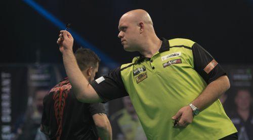 Michael van Gerwen rächt sich für die Niederlage bei Jonny Clayton