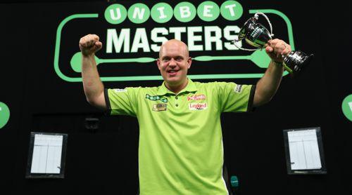 Nach der verpassten Weltmeisterkrone holte sich Michael van Gerwen mit dem Masters den ersten Titel der Saison 2018