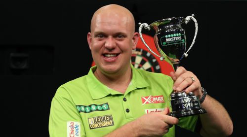 Michael van Gerwen Masters Champion 2018