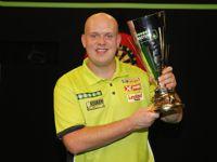 Michael van Gerwen ist Titelverteidiger des Darts Masters
